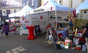 Auf dem Stadtfest in Hückeswagen 2012