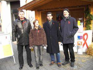 Auf dem Weihnachtsmarkt in Gummersbach